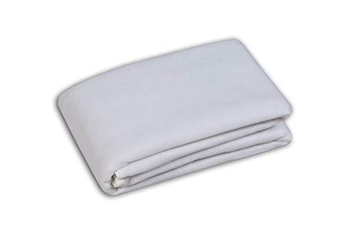 VIP Very Important Pillow Coprirete in Feltro Agugliato Traspirante con Lacci di Fissaggio 90 x 200 Singolo
