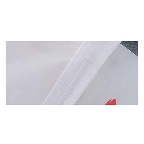 VOSAREA Coprilavatrice Carica Frontale Impermeabile con Cerniera AntiSpruzzi e Anti Sunlight