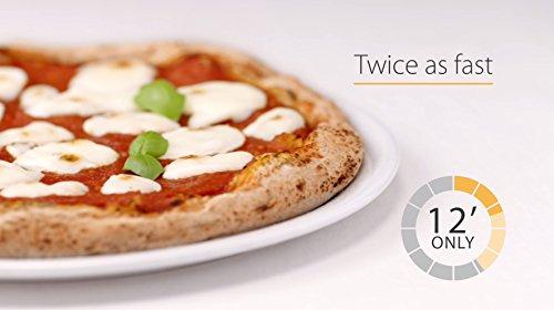 Whirlpool Microonde MCP 349 BL Chef Plus termoventilato combinato 25 litri Nero con griglia alta griglia bassa piatto Crisp  maniglia