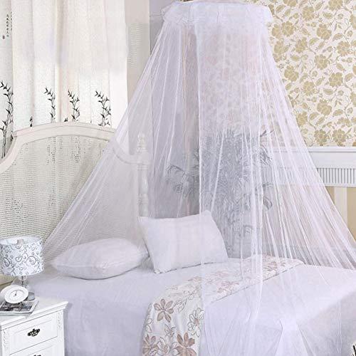 Zanzariera BESTZY tenda da letto singola letto matrimoniale letto queen size e letto king size set completoin Rete con zanzariera Facile e Veloce da installare