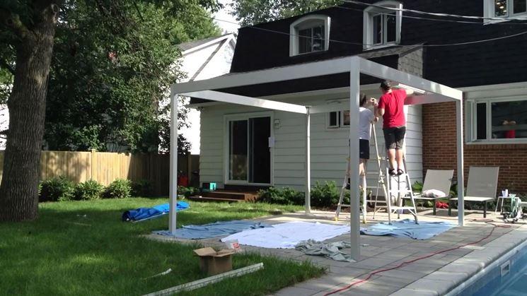 Installazione Pergolato In Legno Su Terrazza Quali