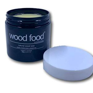 """""""wood food"""" la Cera per ceppi da Taglio, mobili e Giocattoli per Bambini in legno e bambù (Cocco biologico, 180ML (Senza spatola))"""