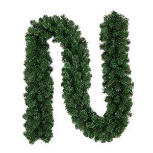Ghirlanda di Natale per casa e giardino decorazione per interni ed esterni ornamento verde verde
