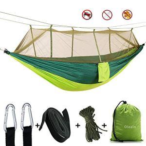 oleein Amaca da Campeggio con zanzariera Amaca da Viaggio Esterna per Campeggio Escursionismo Backpacking Picnic