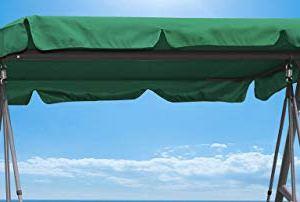 QuickStar  Copertura di Ricambio Universale per Dondolo a 3 posti Colore Verde
