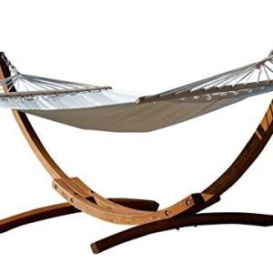 XL deluxe nobile 320cm Amaca con cornice in legno larice mod ARADOS