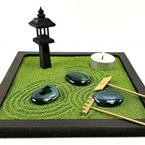 Piccolo Giardino zen da tavolo in legno