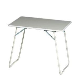 Best 36506800  Tavolo da Campeggio richiudibile Chiemsee Rettangolare 60 x 80 cm Colore Bianco