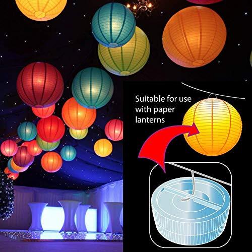 10x Luci a LED subacquee Multicolore 100 Impermeabile Sommergibile Candele senza fiamma Batteria alimentata con telecomando per Vaso Ciotola Lanterna Stagno Piscina