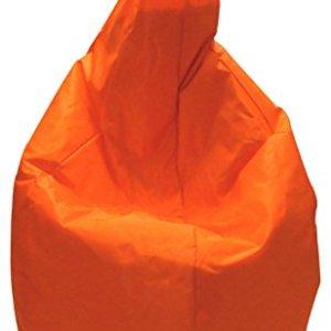 13Casa Nylon A1 Poltrona Sacco Nylon Plastica Arancione 120 x 80 x 80 cm