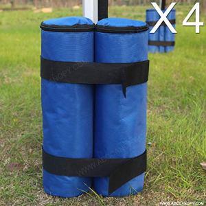 Abccanopy Sand bag 4pcs gazebo peso vestito borsa per qualsiasi Pup Up gazebo