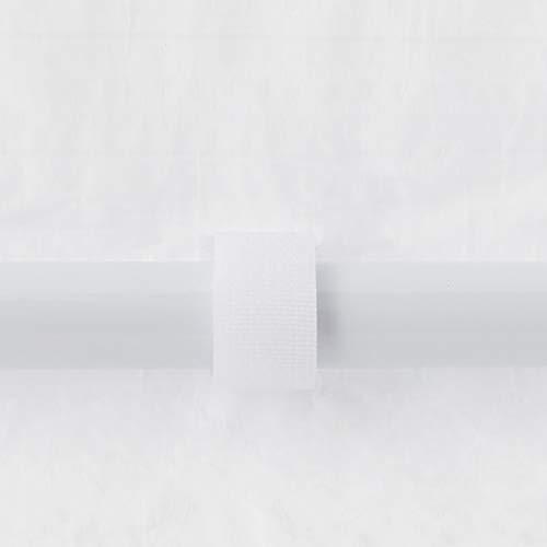 Aktive 53993  Gazebo Pieghevole 300x600x260 cm con Tubi in Acciaio  Colore Bianco