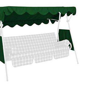 Angerer Tetto per dondolo copertina 200 x 120 cm qualit Swingtex colore verde