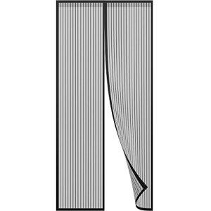 Anpro Tenda Zanzariera Magnetica 110 x 220 cm per Porta con Calamita Moschiera per Porte di Soggiorno Camera da Letto Casa