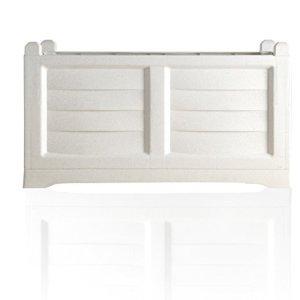 BAMA  Fioriera Arredo per esterno  colore bianco