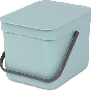 Brabantia Sort  Go Pattumiera Verde Mint 6 litri