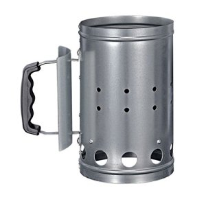 HI 60061 Accendifuoco per barbecue in metallo colore argento 1 pezzo
