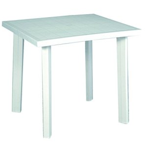 Home 9694325 Tavolo Bianco 80x74x72 cm