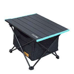REAYOU Tavolo da Campeggio Pieghevole in Alluminio Tavolino da Barca Picnic BBQ S