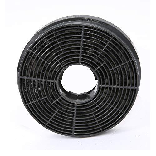Ciarra filtro CBCF002X2 al carbonio per ricircolo di ricambio per cappe e ventole confezione da 2