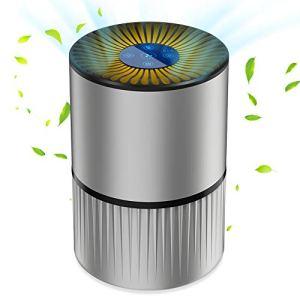 A9 Purificatore dAria Casa con Filtro HEPA Effetti Filtrazione 9997 Aromaterapia FonctionLuce Notturna Regolabile Efficace per Allergie BatteriFumatore Cattura fumo Polvere Polline