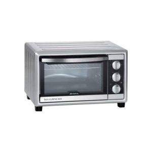 Ariete 985 Bon Cuisine 300  Forno elettrico ventilato Dimensioni interne 50 x 365 x 33 cm 1500W 6 posizioni cottura Timer 60 Argento 30 Litri