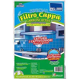 Filtro cappa autoestinguente con carboni attivi filtro cappa ai carboni attivi per cappe da cucina ritagliabile FILTRO CAPPA CARBONI ATTIVI 40x60cm filtro cappa per cucine art 398 ParodiParodi