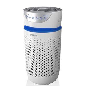 HoMedics Purificatore dAria Filtro HEPA a 360 Tecnologia con Luce UVC Elimina Allergeni Virus Batteri e Germi Piccoli fino a 03 Microns Flusso dAria 1843 m3h