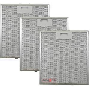 KIT 3 pcsFILTRI ALLUMINIO per CAPPE mm 267 x 305 x 9  Adattabilit ELICA