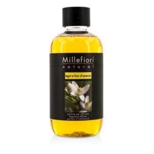 Millefiori Milano Ricarica per Diffusore di Aromi per Ambiente Fragranza Legni e Fiori Darancio 250 ml