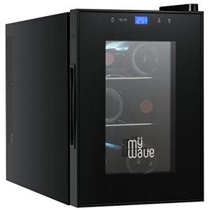 MyWave MWWT 6B Vinoteca per 6 bottiglie verticali capacit di 20 litri raffreddamento termoelettrico colore nero