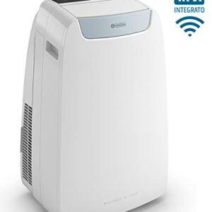Olimpia Splendid 02027 Dolceclima Air PRO 13 A Climatizzatore Portatile con Telecomando e WiFi Ready 13000 BTUh 293 Kw Natural Gas R290 Design Made in Italy Bianco