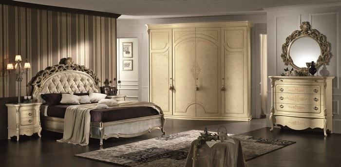 Come arredare la camera da letto in stile retr