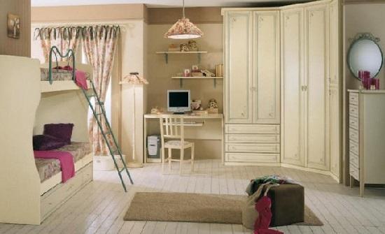 Come scegliere la cameretta in una casa dallo stile