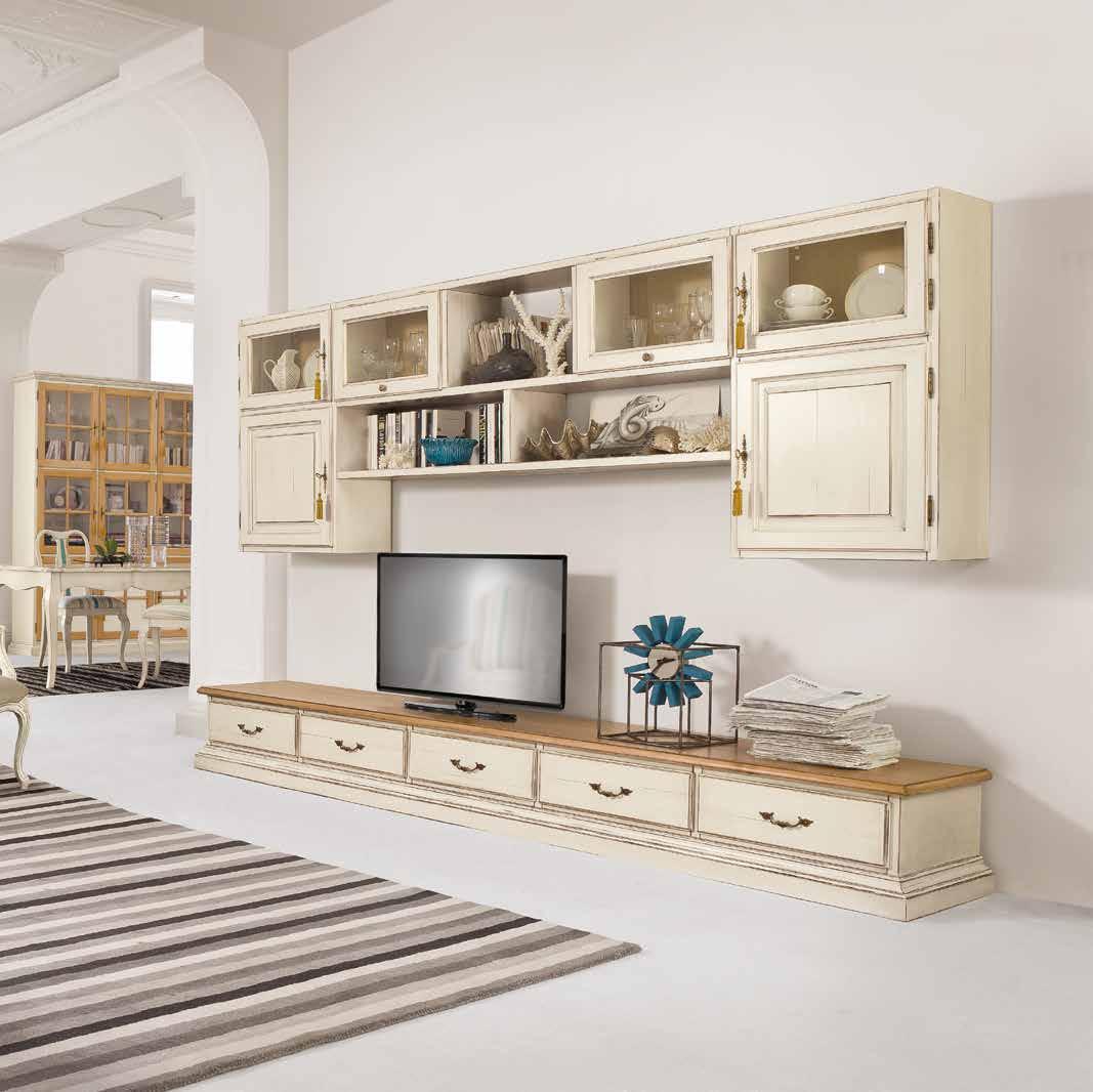 Soggiorno classico colore beige creta Tonin casa e altri