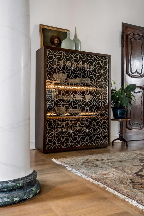 Madia Granada di Tonin Casa in legno e vetro