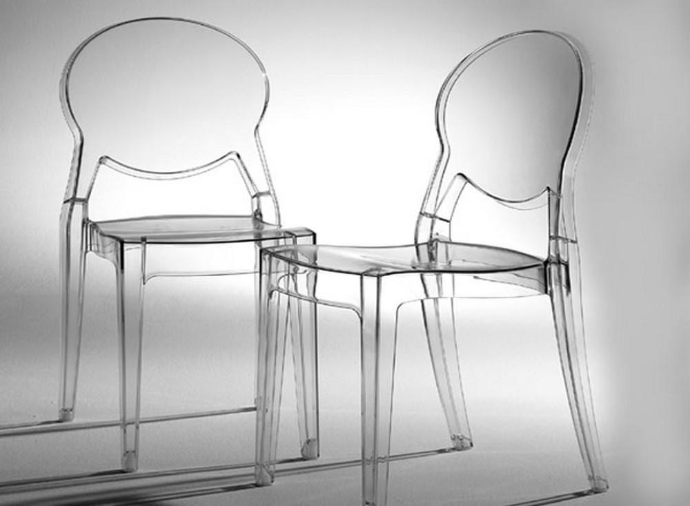 Sedia Igloo Chair di Scab Design impilabile in plastica