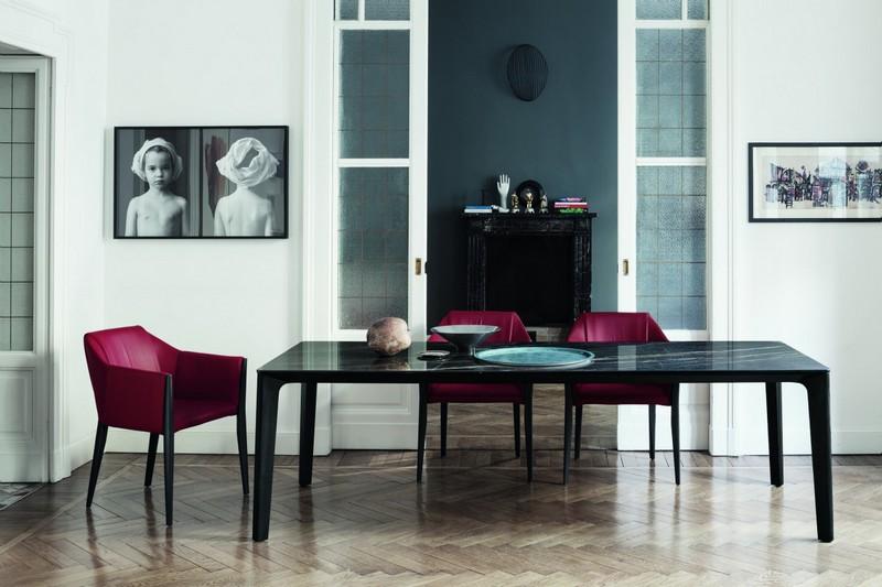 Tavolo allungabile di Bontempi Versus con gambe legno