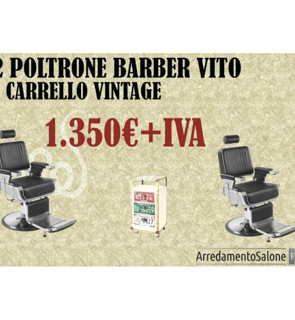 Promo offerta sconto black friday poltrone barbiere barber shop