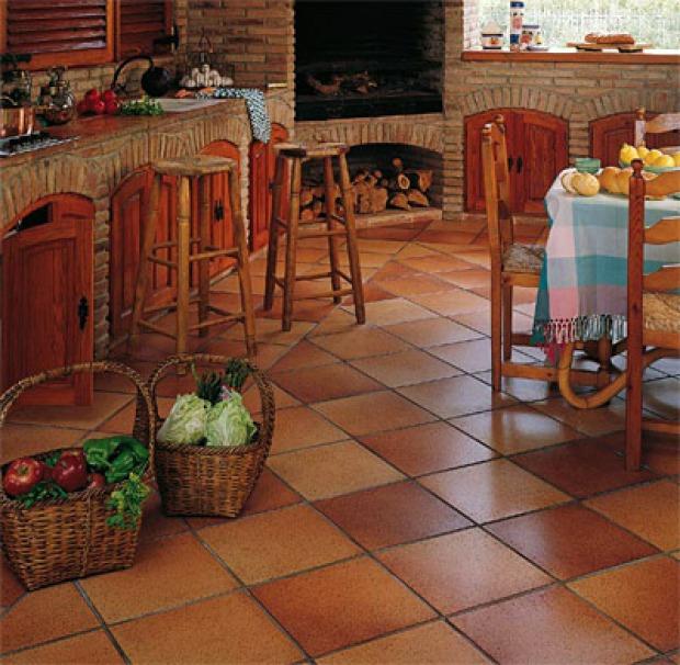 Pavimenti per cucine provenzali materiali e colori giusti