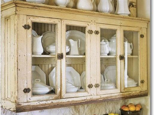 Come abbellire una vetrina in stile Country  Arredamento