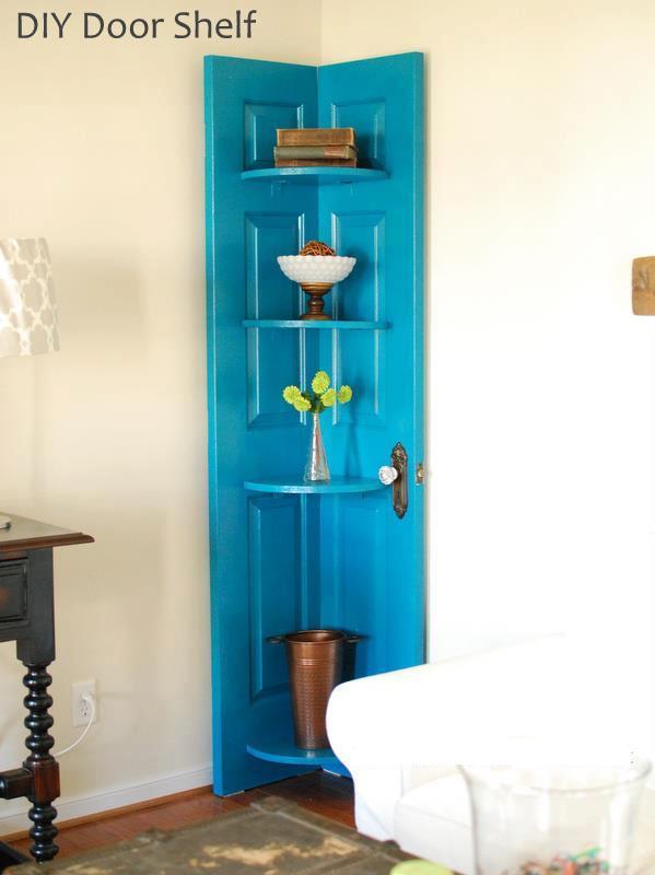 10 idee per riutilizzare vecchie porte in stile Shabby Chic  Arredamento Provenzale
