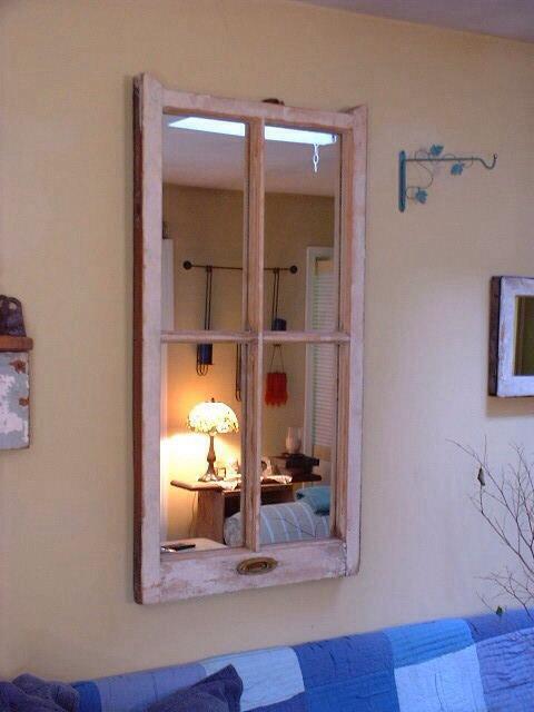 7 idee per riutilizzare vecchi specchi in stile Shabby