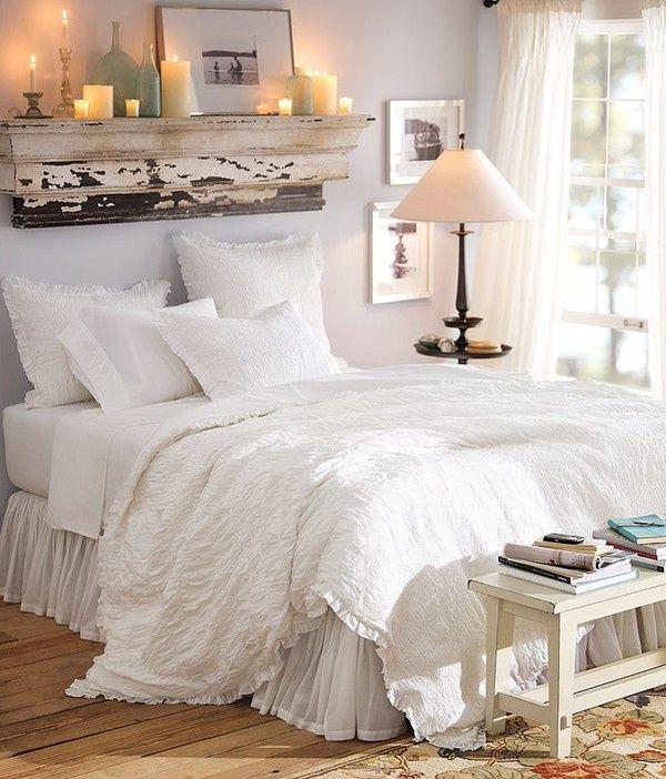 7 idee per personalizzare la testiera del letto in stile Shabby Chic  Arredamento Provenzale