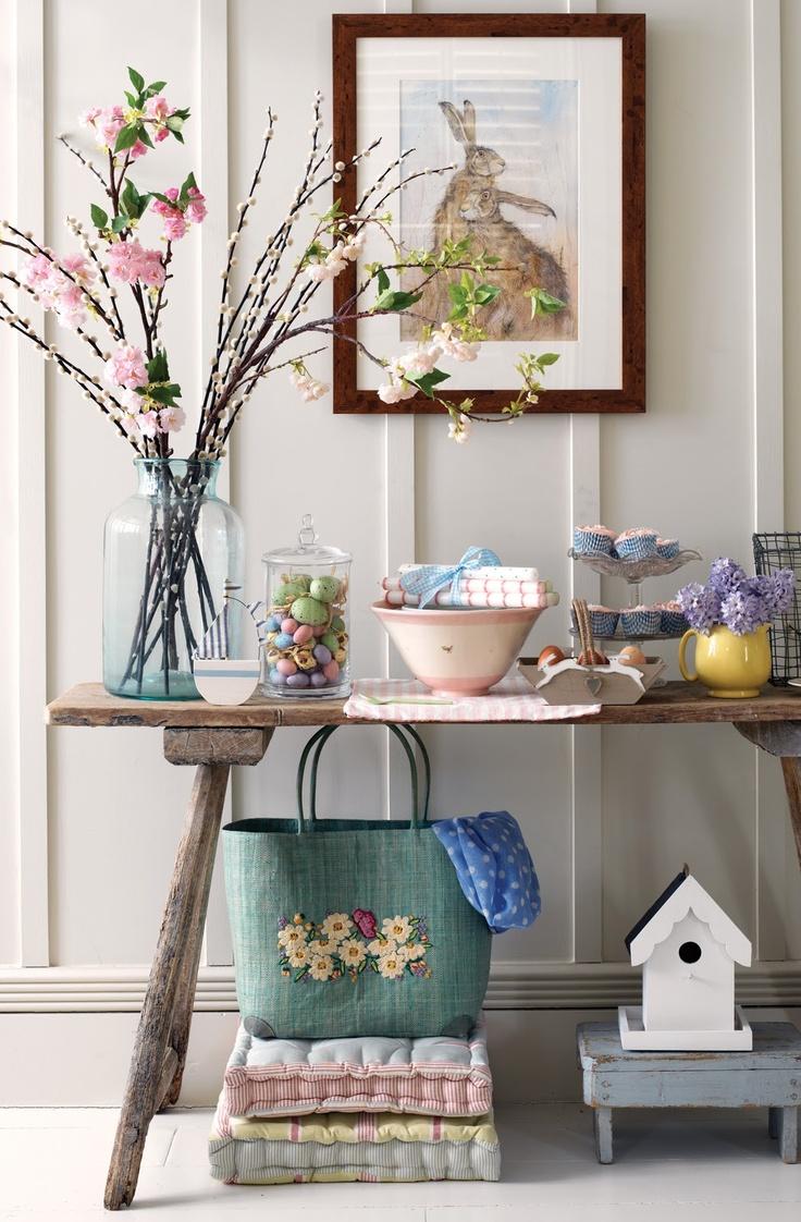 11 idee e decorazioni per la tua Pasqua in stile Shabby Chic Country e Provenzale  Arredamento