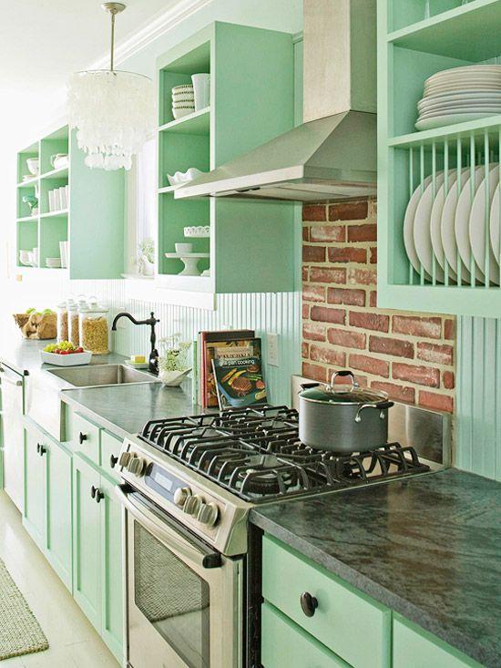 7 idee per arredare con il verde menta la casa Shabby Chic