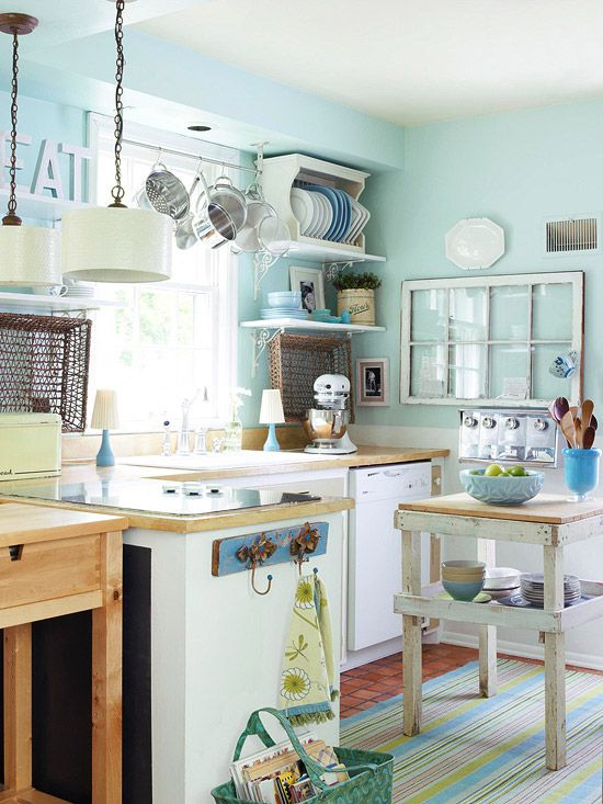 7 idee estive e creative per una cucina Shabby Chic Provenzale o Country  Arredamento Provenzale