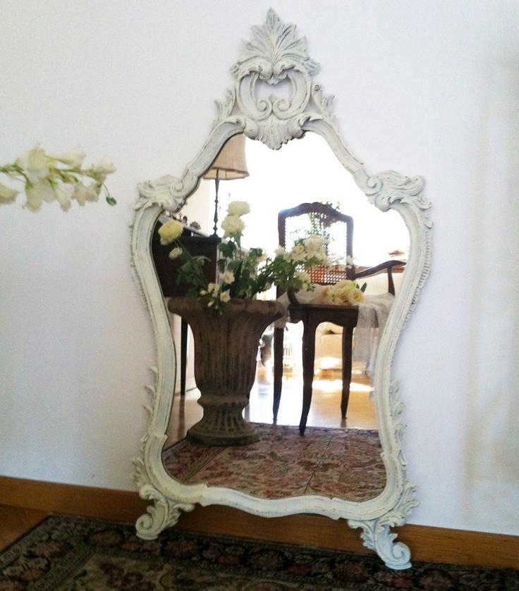 7 idee creative per uno specchio in stile Shabby Chic Provenzale o Country  Arredamento Provenzale