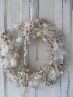 7 idee per decorazioni natalizie in stile Shabby Chic Provenzale o Country  Arredamento Provenzale