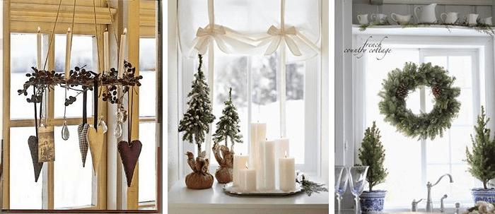 7 idee per finestre decorate a tema natalizio in stile